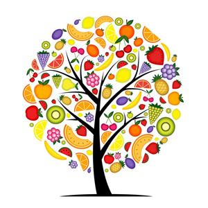 árbol de alimentos