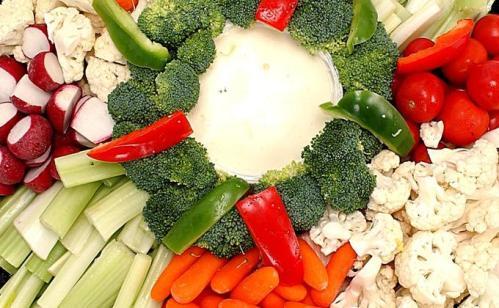 Receta Verduras troceadas con salsa