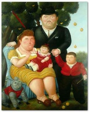 familia obesa