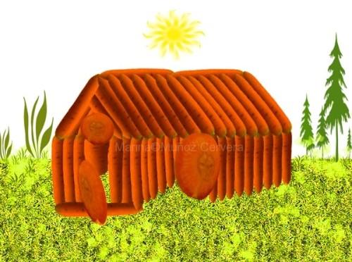 casita de zanahorias