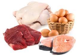 carnes y huevos