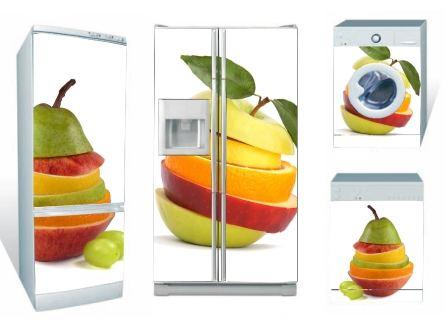 frutas en vinilos