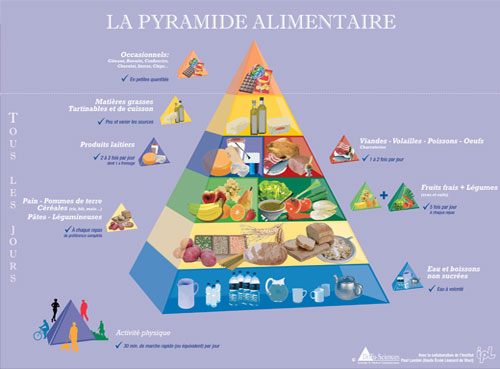 Pirámides Alimentarias para países de Europa. (6/6)