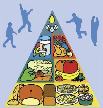 Pirámide alimentaria de Checoslovaquia