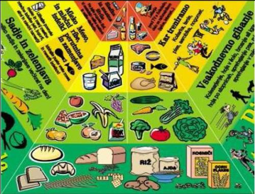 Pirámide alimentaria de Eslovenia