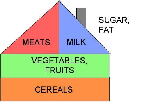 Pirámide alimentaria de Hungría