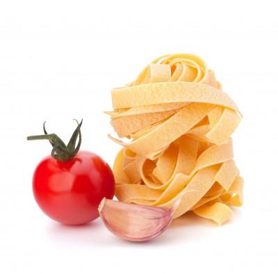 espaguetti con tomate