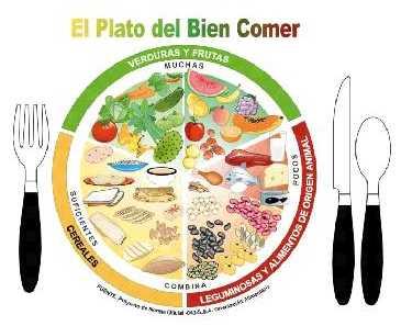Plato del bien comer de México