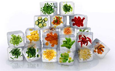 verdura congelados