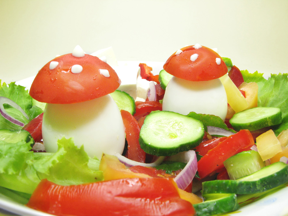 Decorativa ensalada para ni os consejo nutricional - Decoracion de ensaladas ...