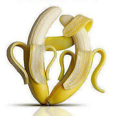 dos plátanos abrazados