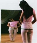 chica con trastorno de anorexia nerviosa