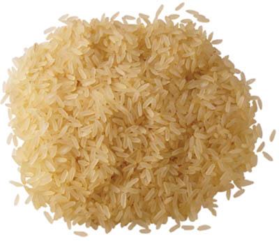 granos de arroz sin cáscara