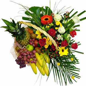 decoracion frutal