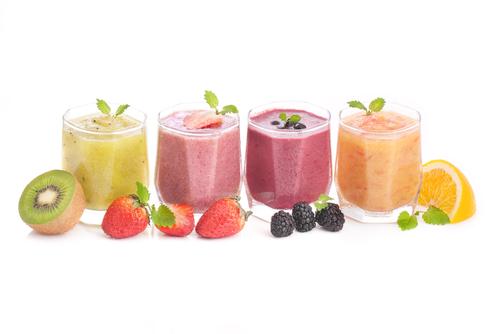 frutas en zumo