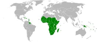 mapa acp