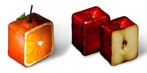velas de fruta