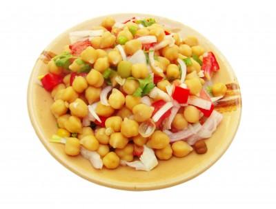 garbanzos y hortalizas