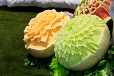 flores en frutas