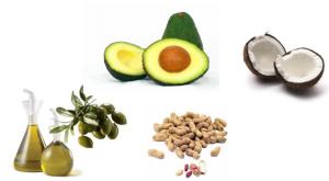 alimentos ricos en grasas monoinsaturadas