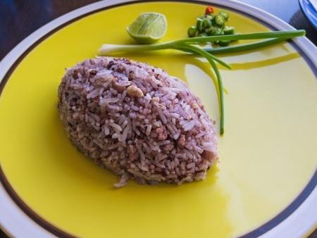aceitunas negras con arroz