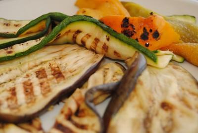 hortalizas a la brasa