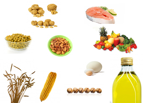 alimentos ricos en tocoferol