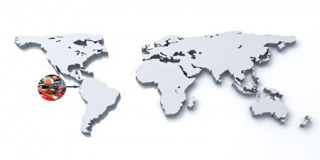 mapa mundo en 3d