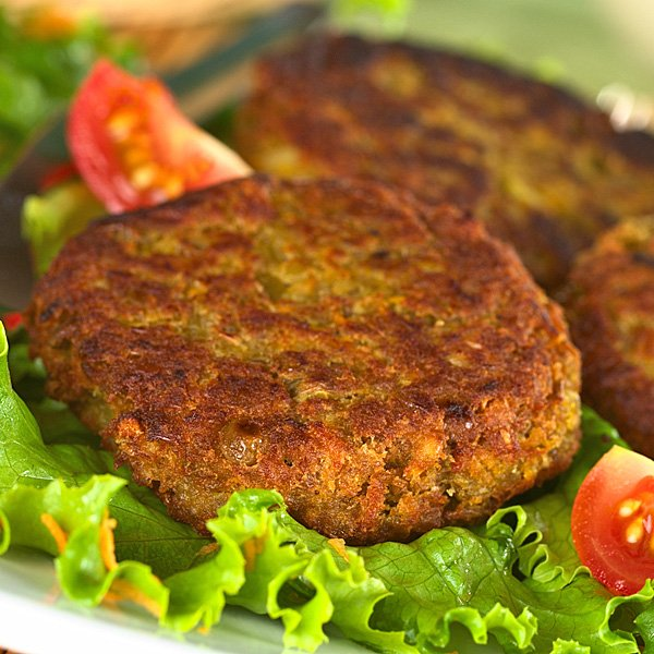 Hamburguesas de lentejas consejo nutricional - Comida vegetariana facil de preparar ...