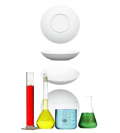 el laboratorio en la cocina