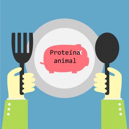 cerdo en un plato