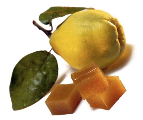 fruta y dulce