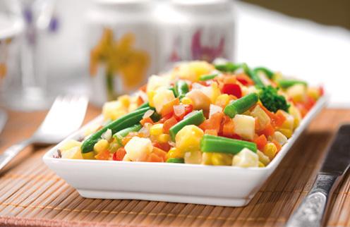 Sobre cocinar verduras.