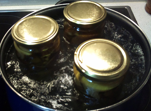 cocinado en medios seco