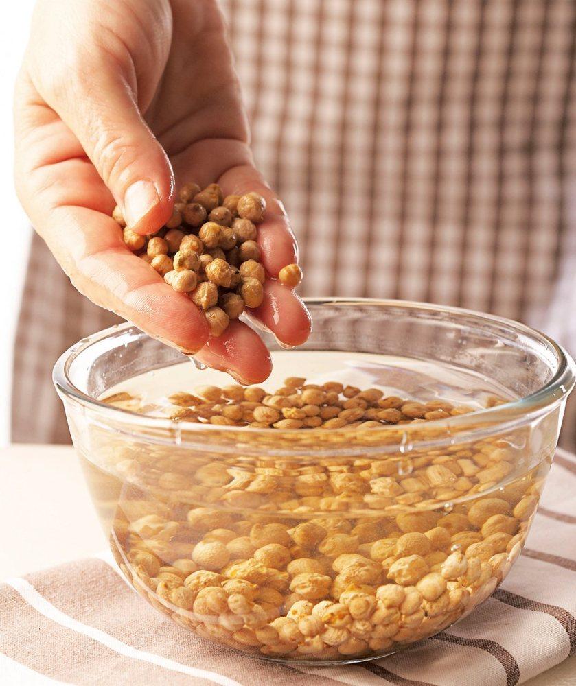 Sobre el remojo de las legumbres secas.